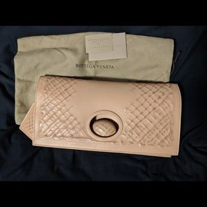 Bottega Veneta Fold-Over Clutch